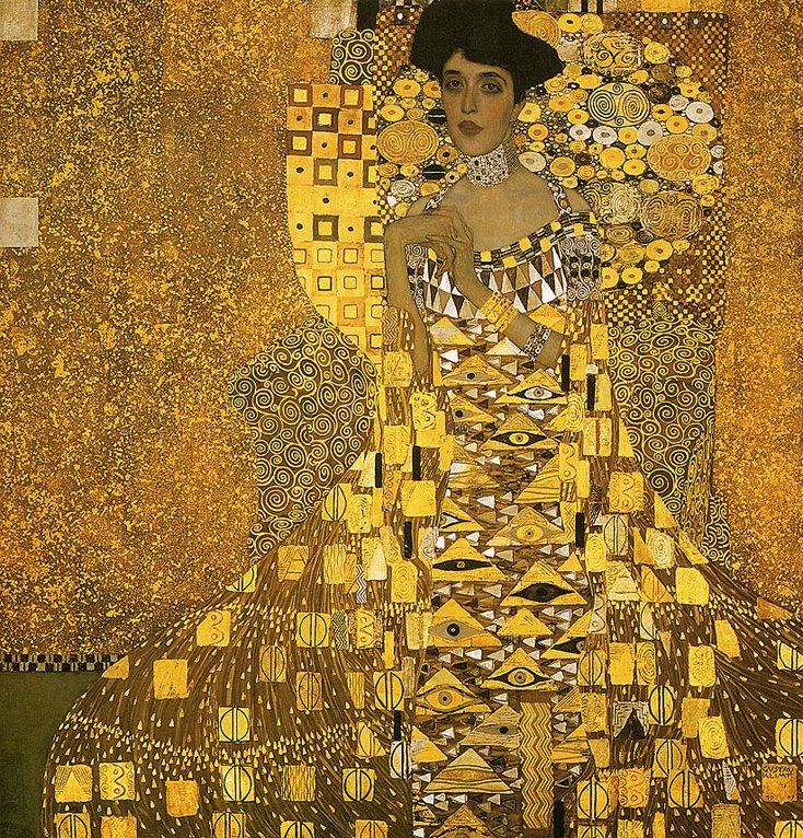 GustavKlimt-Portrait-of-Adele-Bloch-Bauer-I-1907
