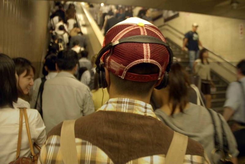 Chipchase, Ways of Seeing, Headphone guy